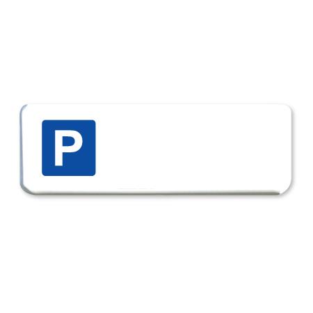 parkeerbord blanco