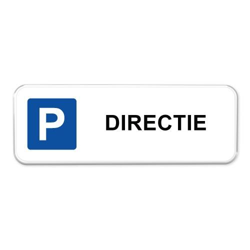 parkeerbord-directie