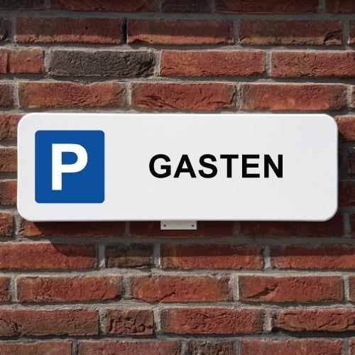 parkeerbord-gasten