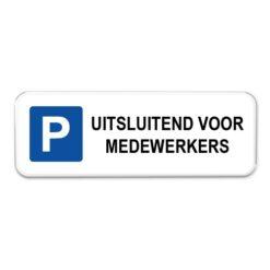 parkeerbord-medewerkers