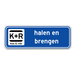 Kiss and Ride parkeerborden