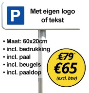 parkeerbord kopen