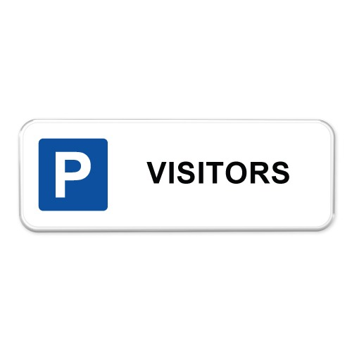 parkeerbord-visitors