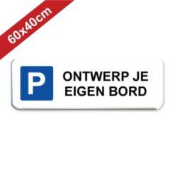 parkeerbord 60x40cm