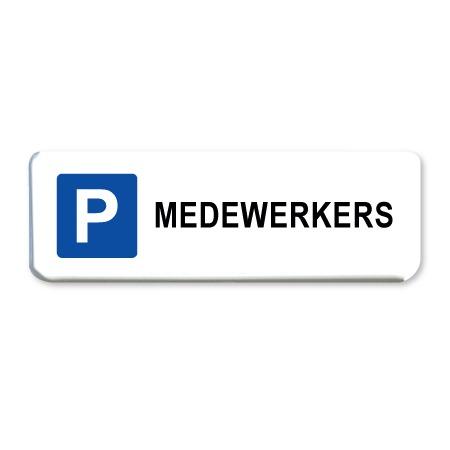 parkeerbord medewerkers
