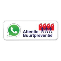 buurtpreventie-whatsapp-bord
