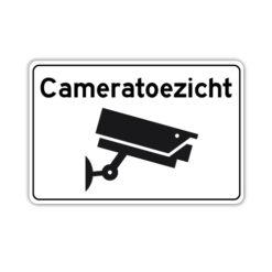 cameratoezicht-bord