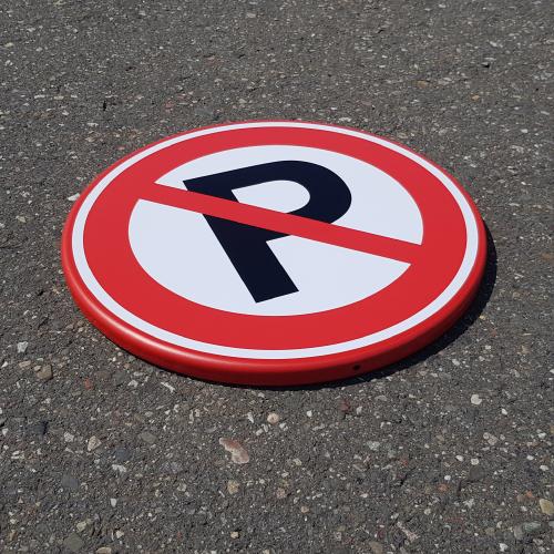 parkeerbord-niet-parkeren-rond