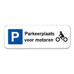 parkeerbord-motoren