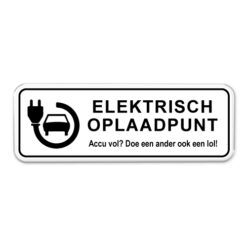 parkeerbord_elektrisch_oplaadpunt