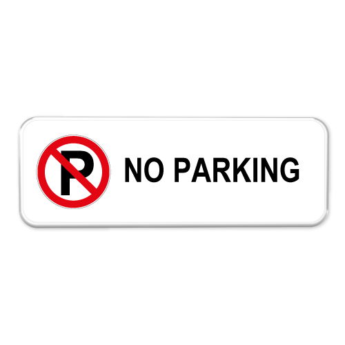 no parking bord