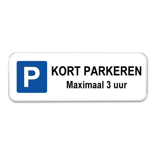 parkeerbord-kort-parkeren-3-uur