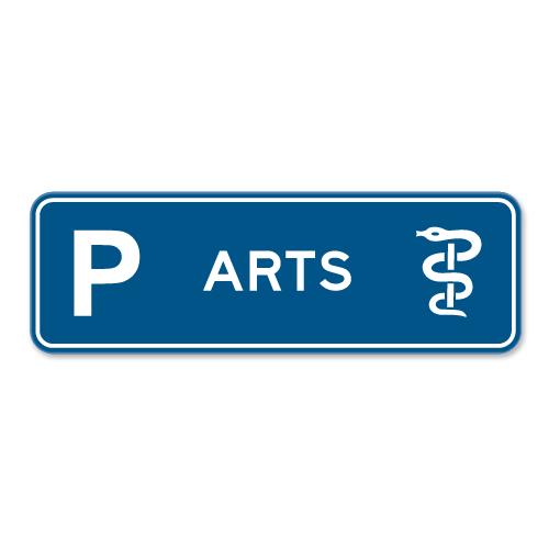 parkeerbord_arts