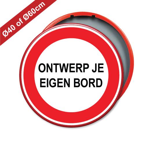 verkeersbord-rond-rood