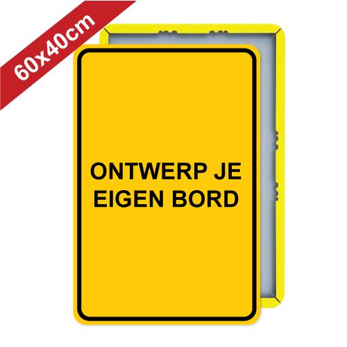 bord-dor-staand-geel-60x40cm