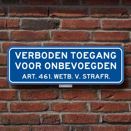bord-verboden-toegang-II-muur