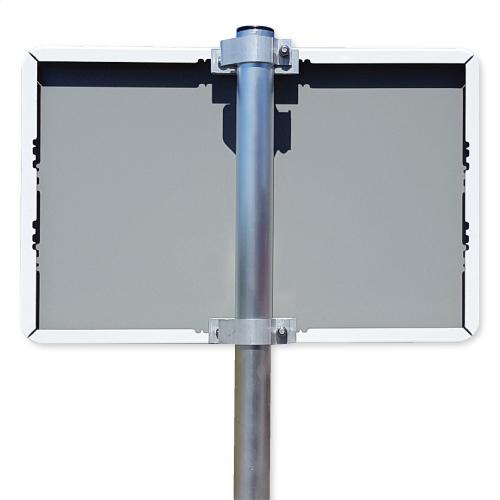 bord-60x40cm-liggend-met-paal-en-beugels