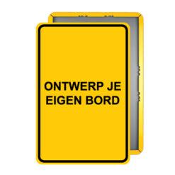 verkeersbord-geel-zelf-ontwerpen-staand