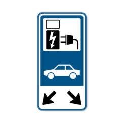 bord-oplaadpunt-autos-pijlen-60x30cm