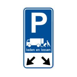 parkeerbord-laden-en-lossen-60x30cm