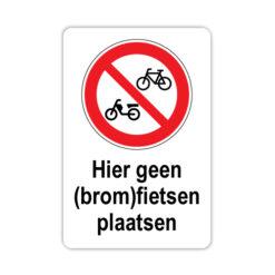 bord-geen-(brom)fietsen-plaatsen
