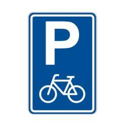 Parkeerbord voor Fietsen