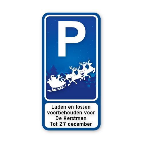 parkeerbord_kerstman