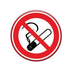 niet roken bord