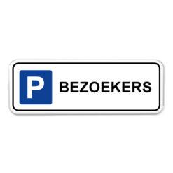 parkeerbord-bezoekers