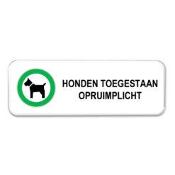 bord_honden-toegestaan-opruimplicht