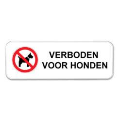 bord_verboden-voor-honden_I